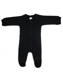 Bambini Black Interlock Sleep & Play