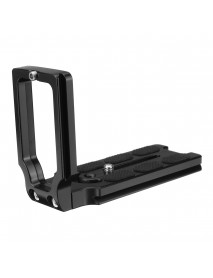 MPU-105 L Shape Quick Release Plate Bracket for Canon for Nikon All Cameras with One-quarter Screw