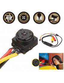 1000TVL Color Mini Micro Screw Pinhole Button Hidden Camera Home CCTV Security