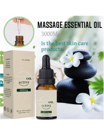 10ml Natural Active Essential Oil 3000mg Herb Extract Drops Hemp Massage Oil Anti Stress Paianxiety Relief Skin Care Sleep Aid
