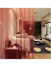 Honana WX-C5 1mx2m String Curtains Door Window Panel Divider Yarn Line Tassel Curtaion Drape Home Decor