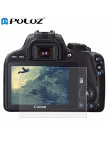 PULUZ Camera 2.5D Curved Edge 9H Surface Hardness Tempered Glass Screen Protector for Canon 100D M3