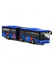 18.5cm 7.3 Alloy Bus 1:32 Diecast Model Toy Car Model Kid Gift House Play Toy