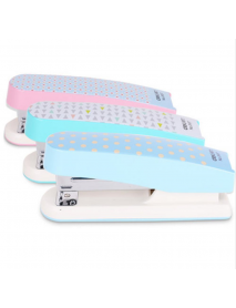 1pcs Deli Stapler 0457 Cute Student Stapling Stationery Office Supplies