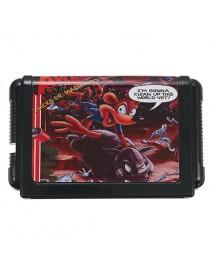16bit Awesome Possum Game Cartridge for Sega Mega Drive Console