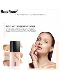 5 Colors Tight Fit Foundation Oil-control Facial Cream Base Brighten Cheek Concealer Makeup Natural Moisturizer