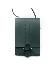 Mini Vertical PU Leather Storage Shoulder Bag Phone Wallet for iPhone Xiaomi Samsung