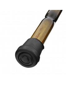 90cm Wooden Walking Stick Wood Cane Pole Carved Varnished Sturdy Climbing Sticks