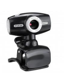 480P USB 2.0 CMOS Image Sensor Webcam with Microphone for Laptop Desktop