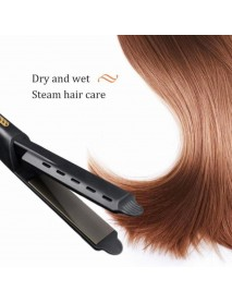 Hair Straightener Four-gear temperature adjustment Ceramic Tourmaline Ionic Flat Iron Curling iron Hair curler For Women hair