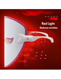 3 Colors Electric Led Facial Mask Face Mask Machine Light Therapy Acne Mask Neck Beauty Machine Led Mask Led Photon Therapy