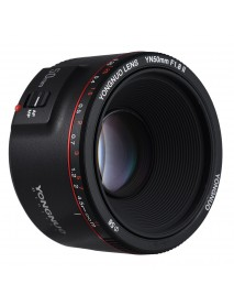 YONGNUO YN-50mm F1.8 II Large Aperture Auto Focus AF MF Lens for Canon Camera