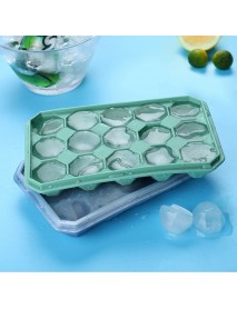 15 Grid Diamond Ice Tray Silicone Stackable Square Kitchen Ice Mold Set for Home Kitchen Accessories