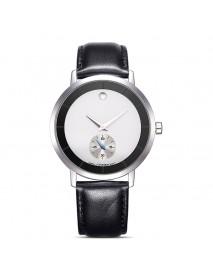 SINOBI 9729 Waterproof Casual Watches Leather Men Quartz Wristwatch Couple Watch