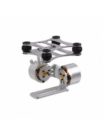 2-Axis Aluminum Brushless Camera Mount Gimbal Frame for Gopro Hero 2 3 DJI Phantom 2