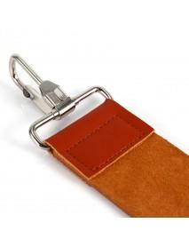 Honana Genuine Leather Knife Sharpening Belt Strop Strap Barber Straight Razor Folding Sharpening Shave Sharpener