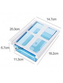 1Pc Slide Fridge Freezer Organizer Refrigerator Storage Rack Shelf Drawer