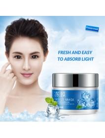 BIOAQUA Freeze Night Mask Skin Care Washable Face Mask Hyaluronic Acid Ice Feeling Moist Night Jelly