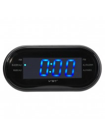 1/2 LED Display Alarm Clock Timer AM/FM Radio 24-Hour System Multi-function
