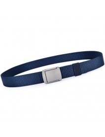 118CM Mens Women Nylon Alloy Buckle Belt Outdoor Casual Military Tactical Durable Pants Strips