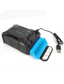 CoolCold Ice Magic 3 USB Suction Type Game Exhaust Fan Notebook Laptop Cooling for Laptop
