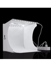 PULUZ PU5022 Portable 8 Inch LED Panels Folding Photo Light Lighting Studio Shooting Tent Box