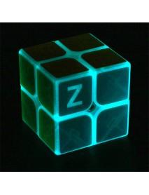 Classic Magic Cube Toys 2x2x2 PVC Sticker Block Puzzle Speed Cube Dark Luminous
