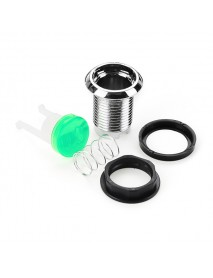 10Pcs 33MM Electroplated Green LED Push Button for Arcade Game Console Controller DIY