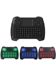 2.4G Wireless 3 Colors Backlit Keyboard With Touchpad Mouse For Android TV Box Laptop Smart TV