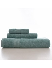 KCASA KC LN-01 Bath Pure Towels Long Stapled Cotton Beach Spa Thicken Super Absorbent Towel Sets