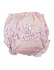 Pink Girl's Cotton/Poly