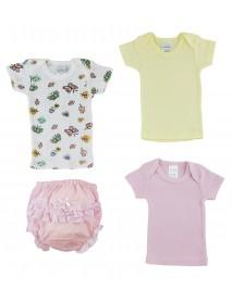 Pink Girl's T-Shirtsand Fancy Pants Underwear