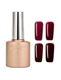 12 Colors Nano Wine Red Color System Nail Art UV Gel Polish Soak-off 12ml