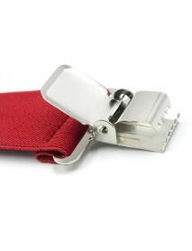 5cm*125cm Plus Size Clip-on Suspenders Four Clips  Adjustable Braces  Oversize Braces Belt