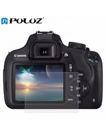 PULUZ Camera 2.5D Curved Edge 9H Hardness Tempered Glass Screen Protector for Canon 1200D 1300D