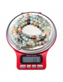 3kg/0.1g Mini Digital Jewelry Scale Round Shape Kitchen Scale High-precision Electronic Balance