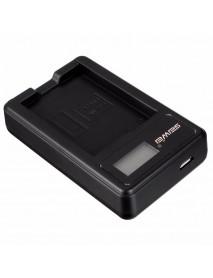 EN-EL14 Li-ion Camera Battery Dual Charger With Charging Indicator For NIKON