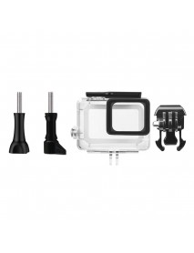Diving Waterproof Housing Case Lens Cap Film Accessory Kit For GoPro Hero 6 5 Black Sport Camera