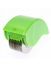 Herb Rolling Roll Rollers Mincer Herbal Manual Hand Scallion Cut Cutter Slicers 6 Stainless Steel Bl
