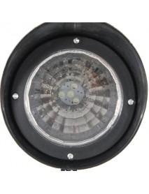 2pcs Garden Solar Power 4 White LED Spotlights Outdoor Lawn Courtyard Lamps