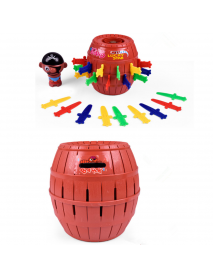 14cm Pirate Bucket Game Spoof Tricky Toys Pastime Toys