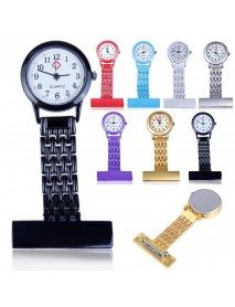 Stainless Steel Arabic Numerals Nurse Watch Colorful Doctor Pocket Watches