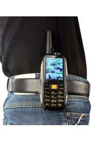 2.4inch 19800mah Rugged Phone Dual SIM GSM Walkie Talkie Standby for Smartphone FM Radio