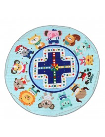 1.45M Gym Baby Play Mat Crawling Blanket Home Large Storage Rug Groundhog Floor Baby Crawling Rug