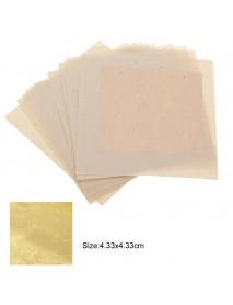 10Pcs Imitation Gold Foil Sheets for Arts Gilding Crafting Decoration DIY