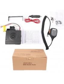 Zastone 218 Two Way Radio Dual Band VHF UHF Mobile Car Radio Transceiver 25W Mini CB Radio Station