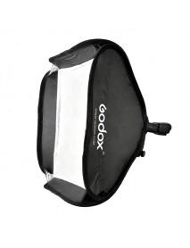 Godox 40 x 40cm Flash Speedlite Light Softbox Diffuser Umbrella with S-type Bracket Bowens Holder