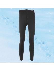 Men Warm Pants Thickening Plus Cashmere Trousers Single - piece Cotton Autumn Winter Leggings