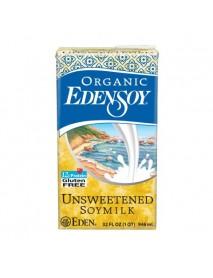 Eden Foods Unsweetened Edensoy (12x32 Oz)