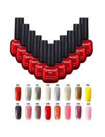 47 Colors DANCING NAIL Charming Nail Art UV Gel Polish Soak-Off